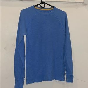 Urban Pipeline Blue Mesh Long-sleeve shirt